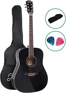 41 Inch Acoustic Guitar Wooden Classical Guitar ALPHA – Black