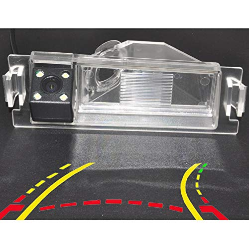 QWERQF El Coche de trayectoria dinámica Sigue elMonitor inalámbrico de lacámara de visión Trasera delAparcamiento inverso,para Kia Sedona VQ Carnival R 2012-2014