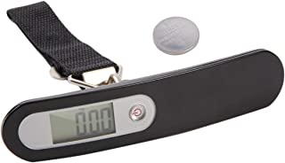 Digital Luggage Scale High Precision Measuring System With One Simple Touch Without Backlight 50kg/10g Black - Black