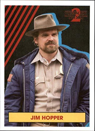 2019 Topps Stranger Things Season 2 Character Stickers #CS-2 Jim Hopper One Netflix Series Collectible Sticker