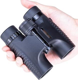 FANGFHOME télescope Jumelles de Petit télescope Portables 10x26 pour Adultes, Enfants, Jumelles légères, Cadeau pour Enfan...