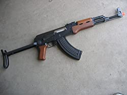 in budget affordable Double Eagle AK-47S Metal Electric 425 FPS Airsoft Assault Rifle