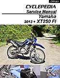 Cyclepedia Yamaha XT250 EFI Service Manual (English Edition)