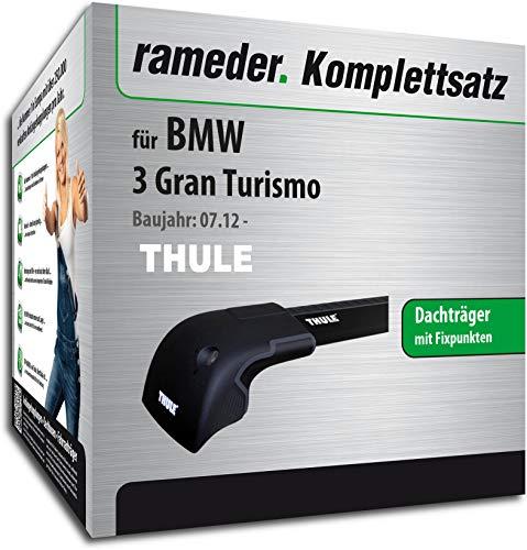 rameder Juego completo, Baca Wingbar Edge para BMW 3Gran Turismo (119747–11207–5)