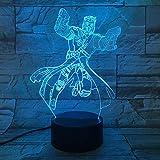 Novedad lámpara de Mesa lámpara de Halloween decoración Regalo niños Vacaciones Cambio de Color lámpara de Lava