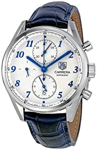 Tag Heuer Men's CAS2111.FC6292 Carrera Heritage Silver Dial Dress Watch image