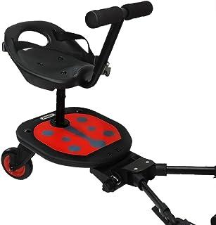Eichhorn Ladybug Rider Geschwisterboard Inklusive Sitz Und Lenkstange