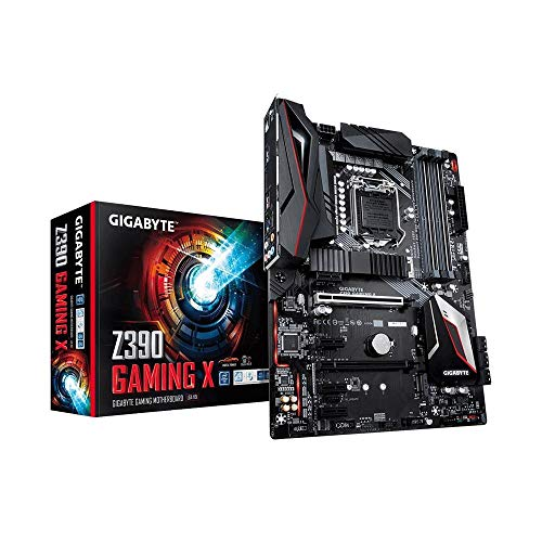 Gigabyte Z390 Gaming X LGA 1151 (Zócalo H4) Intel Z390 ATX - Placa Base (DDR4-SDRAM, DIMM, 2133,2400,2666 MHz, Dual, 16GB, 64 GB), Negro