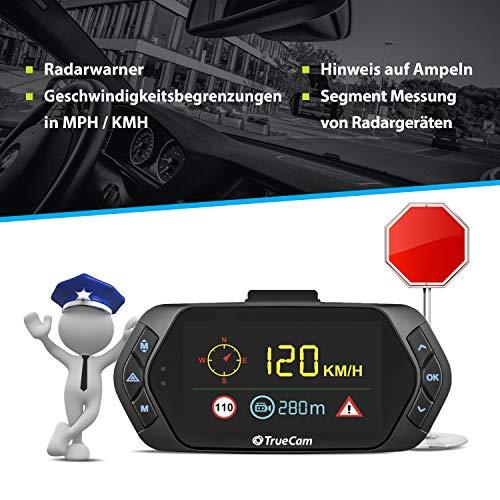 TrueCam A7s GPS Professionelle Dashcam Autokamera 2K Super HD - 7