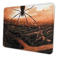 マウスパッド 蜘蛛 20 X 24cm 滑り止め 防水 おしゃれ 洗える ビジネス用 家庭用 ゲーム用