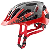 Uvex Unisex - Casco de bicicleta para adultos, rojo (gris rojo), 52-57 cm