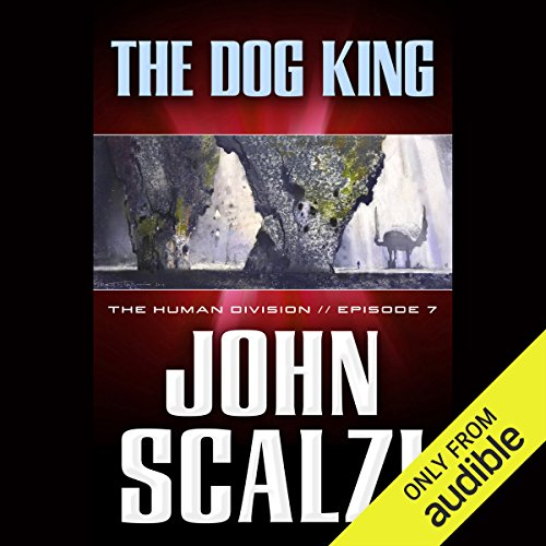 The Dog King audiobook cover art