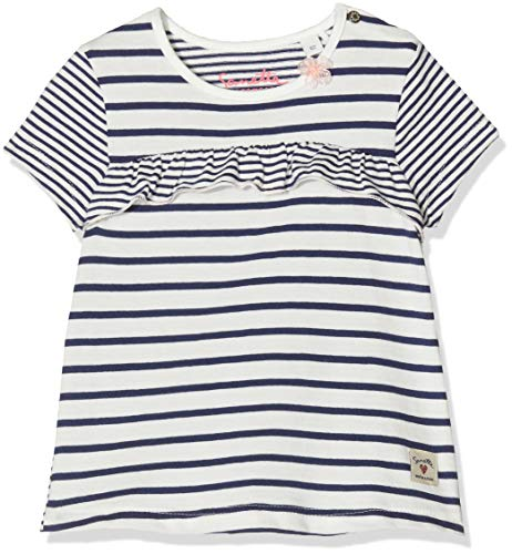 Sanetta Baby-Mädchen T-Shirt, Beige (Ivory 1829), 56 (Herstellergröße: 056)