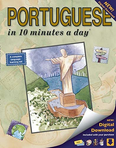 Compare Textbook Prices for PORTUGUESE in 10 minutes a day: Language course for beginning and advanced study. Includes Workbook, Flash Cards, Sticky Labels, Menu Guide, Software ... Grammar. Bilingual Books, Inc. Publisher Fourth Edition ISBN 9781931873338 by Kershul, Kristine K.