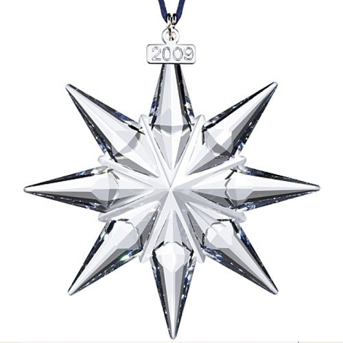 Swarovski 2009 Annual Edition Christmas Ornament