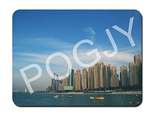 Preisvergleich Produktbild POGJY Gaming Mauspad 9.25 x 7.75 Inches,  Mousepad,  Verbessert Präzision und Geschwindigkeit,  Gummiunterseite für Stabilen Halt auf Glatten Oberflächen,  Rutschfest,  Strapazierfähig Schwarz - Dubai Panorama image 143