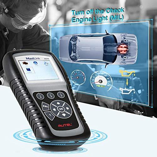 Autel Autolink Diagnosewerkzeuge Elektrische und Akku-Tester Auto-Code-Leser (ML619)