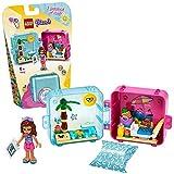 LEGO 41412 Friends Olivias magischer Sommer-Würfel, Strandtag; Bauset, Sammler-Mini-Set...