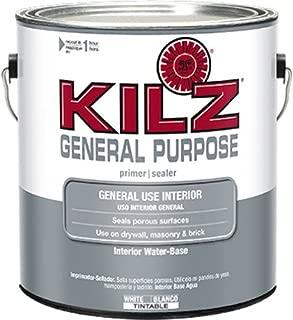 KILZ General Purpose Interior Latex Primer/Sealer, White, 1 gallon
