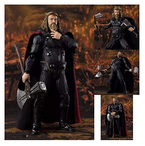 Action Figure Super Hero Thor Articolato PVC Action Figure Modello da Collezione Giocattoli da Collezione (Color : with Retail Box)