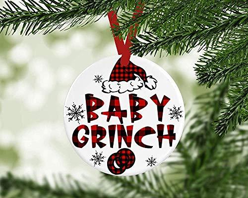 Fr75en Baby Grinch - Disfraz de Navidad de Los Grinches para rbol de Navidad