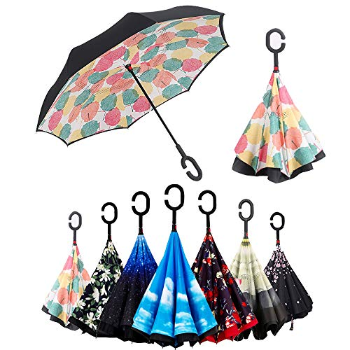 Paraguas Invertido, Paraguas Plegable, Reversible, con