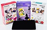 Alice in Wonderland, Disney Pooh and Mickey instax mini films for Fuji instant mini cameras set of 3 packs x 30 photos