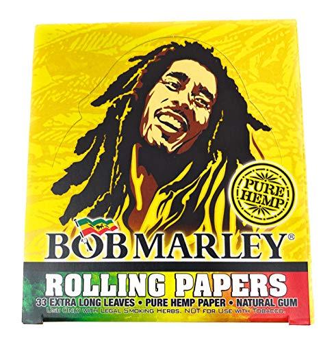 Bob Marley Pure Hemp - Papel para cigarrillos (50 unidades)