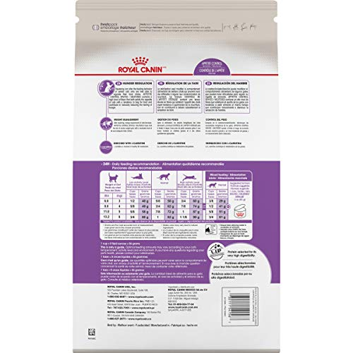 Royal Canin Appetite Control Spayed/Neutered Dry Adult Cat Food, 6 lb. bag