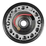 Accesorios de ruedas Coche Auto Dirección Volante Snap Off Off Off Hub Adapter Boss Kit para Mitsubishi Lancer CE Evolución IV V FTO