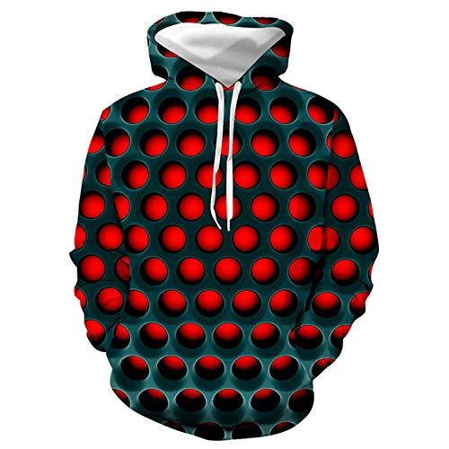 DREAMING-Impresión 3D suéter con capucha suelto suéter casual pantalones traje de los amantes primavera y otoño top de manga larga + pantalón largo de pierna traje de ropa deportiva 3XL