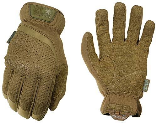 Mechanix Herren FastFit Tactical Touch Handschuhe, braun (Coyote), Medium