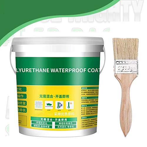 Waterproof Mighty InvisiGlue, 300g Innovative Sealer Mighty Paste, Waterproof Invisible Adhesive, Mighty Sealant Paste, Advanced Mighty Sealer Paste(Provide Brushes)