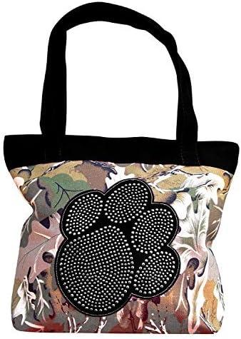 Peach Couture Womens Designer Print Tote Handbag New product! New type Large Travel half Sh