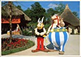 Astérix - cartes postales - Parc Astérix 1991 - Astérix et Obélix au village