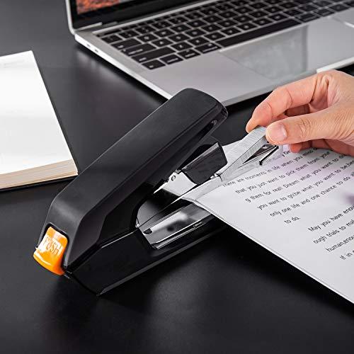 Amazon Basics Reduced Effort Desk Stapler, 40 Sheet Capacity - Black, 3 Pack Photo #5