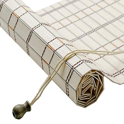 ZAQI Estores enrollables Persianas enrollables Impermeables de PVC, Sombrilla for Patio Interior y Exterior con persiana, 70/90/110/130/140 cm de Ancho (Size : 140×170cm)