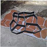 ZYCX123 Los moldes de concreto Bricolaje Ruta Fabricante de Cemento de hormigón del Molde Paseo Stepping Stone pavimentadora de Paseo Jardín del pavimento