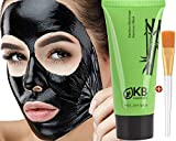 Blackhead Remover Mask Gift Brush tool Kit included Charcoal Black Mask For Face