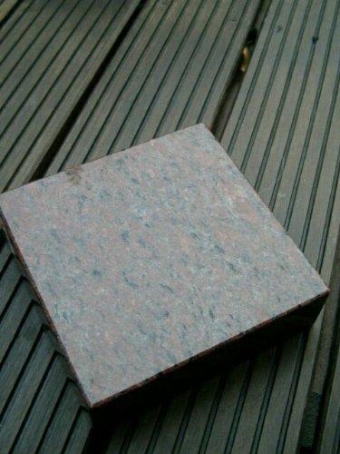 Granitsockel Sockel aus Granit Grabsockel Trittstein Granitplatte Vanga 25cm x 25cm x 6cm