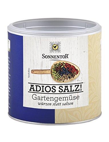 Sonnentor Adios Salz Gartengemüse Mischung Gastrodose klein bio, 1er Pack (1 x 170 g)