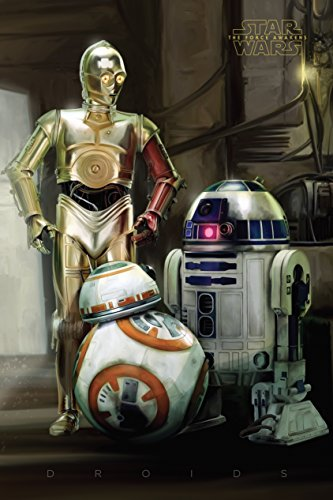 Star Wars Episode 7 Droids Maxi Poster 61 x 91.5cm by Gb Posters