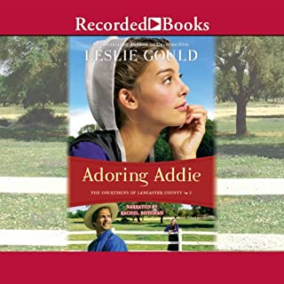 Adoring Addie audiobook cover art
