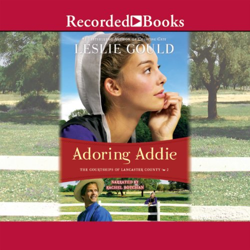 Adoring Addie audiobook cover art