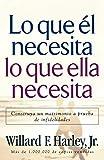 Lo Que El Necesita, Lo Que Ella Necesita/ His Needs, Her Needs: Construye un matrimonio a prueba de infidelidades/ Building an Affair-Proof Marriage (Spanish Edition)