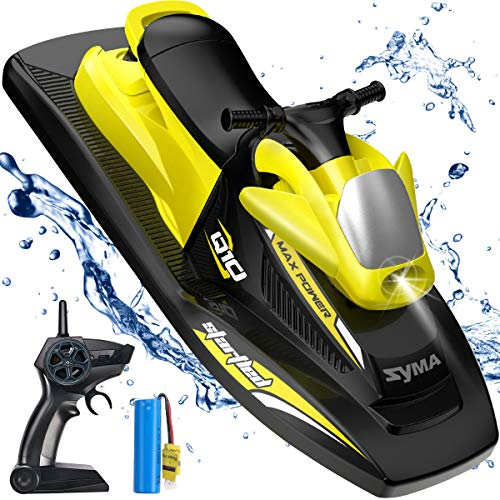 Syma 2.4GHz RC High Speed Boat Remote Control Watercraft for Pools, Lakes...