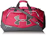 Under Armour Undeniable Duffle 2.0 Gym Bag, Tropic Pink (654)/White, Small