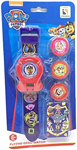 Paw Patrol Flying Disc Watch Gifts For Boys Girls