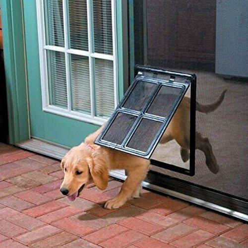 Xiaokesong Hundetür Hundeklappe Haustiertüre mit Magnetposition für Katzen, Kleine Hunde, mittelgroße Hunde und mittlere/große Hunde