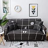 WXQY Funda de sofá geométrica,elástico elástico Sala de...